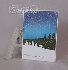 Sleigh Ride Edgelits Stampin' Up!