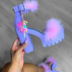Dr Shoes, Cute Shoes Heels, Fur Heels, Me Too Shoes, Stripper Heels, Aesthetic Shoes, Aliexpress, Womens High Heels, Pink High Heels