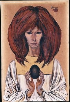 The Black Egg by Cameron(née Marjorie Cameron) occultist & artist