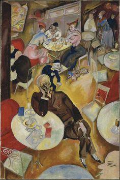 George Grosz, Café, 1915