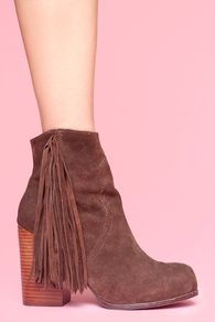 Fringe boots at Hyp Boutique
