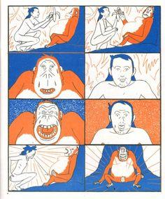 Mowgli's Mirror by Olivier Schrauwen / Retrofit Comics