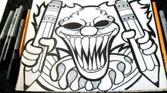 Las 54 Mejores Imágenes De Grafitis En 2019 Cool Drawings Draw Y