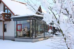 Ogród zimowy, pomysły, oranżeria, budowa ogródu zimowego, dobudówka., Zobacz więcej na: https://www.homify.pl/katalogi-inspiracji/15468/ogrod-zimowy-wskazowki-i-porady