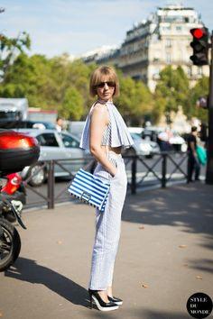 STYLE DU MONDE / Paris FW SS2014: Vika Gazinskaya  // #Fashion, #FashionBlog, #FashionBlogger, #Ootd, #OutfitOfTheDay, #StreetStyle, #Style
