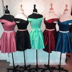 V Neck Homecoming Dresses ,8th Grade Prom Dresses,Short Prom Dresses,Off Shoulder Dress,Chic Cocktail Dress,Short Graduation Dresses,Semi Formal Dresses