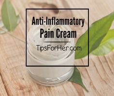 Anti-Inflammatory Pain Cream for muscle aches, back pains, spasm, cramps and…