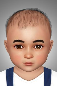 Buckley's Sims - Newborn hair for toddlers, an edit of the Sims Twin Boys, Twin Babies, Sims 4 Mods, Sims 3, Long Face Shapes, Barbie Wedding Dress, Rocker Outfit, Sims Hair, Young Baby