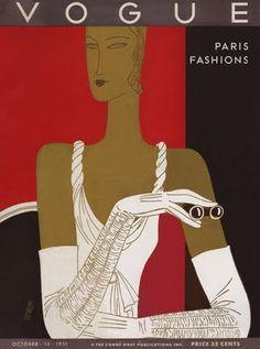 ♥ Vogue Oct. 1931 - Eduardo Garcia Benito