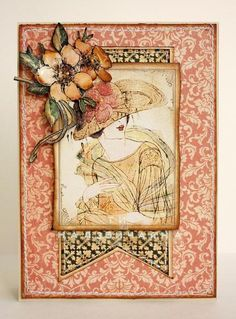 Image result for handmade cards using graphic 45 ladies