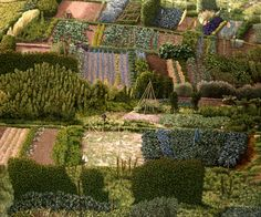 Allotments - David Inshaw  1988