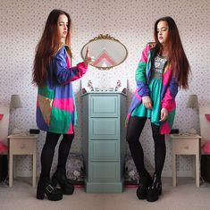 More looks by Amelia  Breading: http://lb.nu/heartshapedrose  #edgy #retro