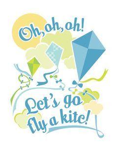 Resultado de imagen para kite nursery wall decal
