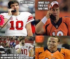 At Least Eli Manning Is Looking Out For His Brother... -NFL Memes #QB