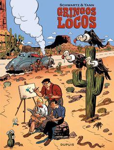 Cover Art from a Dutch Comic Book