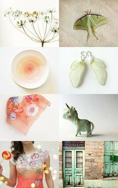 coral mint by giavere on Etsy--Pinned with TreasuryPin.com