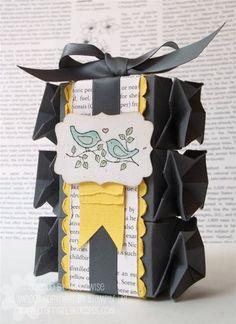 scrapbooking idea for a box ♥