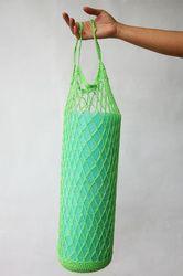 porta-tappetino-da-yoga (uncinetto) - crocheted yoga mat bag