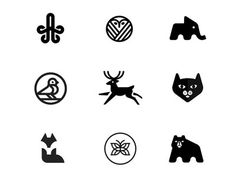 Minimal Logos 2 by Conceptic Michał Gwarda
