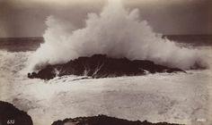 GEORGE FISKE  1835 - 1918 Surf at Point Lobos, 1883-84