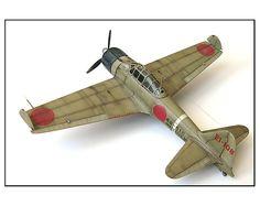 1/48 Mitsubishi A6M2b Zero Fighter Type 21 (The Eternal Zero) - Google Search