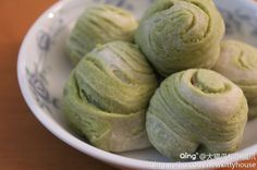 Crispy Green Tea Cake