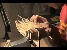 ▶ Ship Model - Armed Virginia Sloop, 1768 - Model Shipways, Preparing For Planking - Part 2 - YouTube