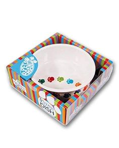 Pet Brands Pets Ceramic Bowl 5 inch