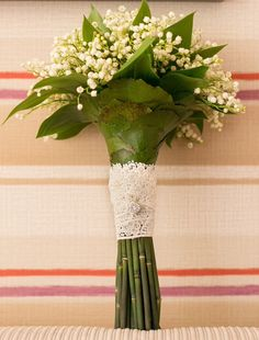 #weddingbouquet #lilyofthevalley #liliofthevalleyandlacebouquet