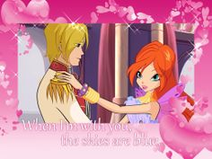 Winx Valentines|This year, the Winx Club is serving up some sweet Valentines, just for you! These two never worry about the weather when they're together.