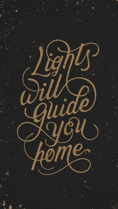 'Lights Will Guide You Home' lyrics by Coldplay, hand-lettering by Jennet Liaw The Words, Typography Quotes, Typography Letters, Calligraphy Quotes Lyrics, Calligraphy Art, Pretty Words, Beautiful Words, Lyric Quotes, Me Quotes