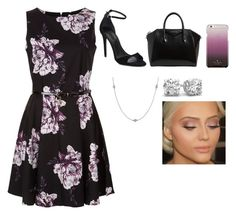 """""""Floral"""" by ricardomdelmar on Polyvore featuring Alexander Wang, Givenchy, Kate Spade and Elsa Peretti"""