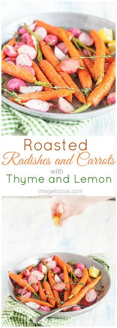 Roasted Radishes and