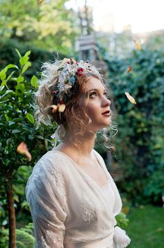 Edwardian inspired wedding dresses and headpieces. Headpieces by http://www.vintagelondon.biz/.  Dress design by http://www.sallylacock.com/.  Photography by www.fionasweddingphotography.co.uk.
