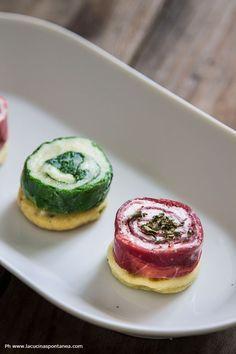 I rolls sono dei finger food freddi. Si possono preparare in anticipo, si ottengono arrotolando più ingredienti tra loro. Scopri di più