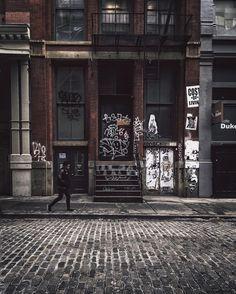 Gritty city  #vsco #soho  .... SoHo, Manhattan