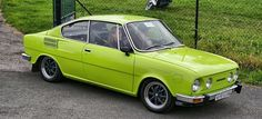 1970-1982 Skoda 110R Coupe Retro Cars, Vintage Cars, All Cars, Cars Motorcycles, Classic Cars, Trucks, Bike, Vehicles, Concept