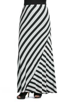 39707cf66a112 Stripe Maxi Skirt Skirts Cato Fashions Maxi Skirt Style