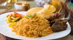 طريقة الأرز البرياني - Delicious rice with meat recipe