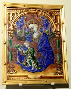 @Victoria and Albert Museum, From newly opened Renaissance Medieval rooms About 1500-10 France Limoges