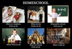 Used to be homeschooled..