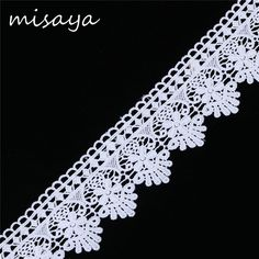 15 Ycotton Hollow Embroidered Lace Trim clothing craft decoration Sewing