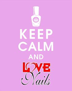 #KeepCalm and #LOVENails!  www.rdcosmetic.com #unghie #nails #nailart