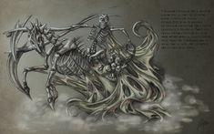 Apokalyptischer cavaliers Personnage-Sang /& mort-Veronese Apocalypse deuxième Cavalier