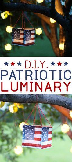 DIY Fourth of July L