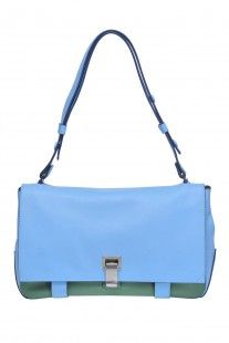 Proenza Shouler Borsa 'PS Courier two-tone' - Acquista online su Glamest.com
