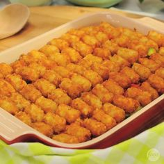 Try Sunny's comforting, crowd-pleasing Tater Tot Pie Casserole recipe from Food Network. Casserole Dishes, Casserole Recipes, Beef Recipes, Cooking Recipes, Veggie Recipes, Yummy Recipes, Recipies, Cooking Food, Cooking Videos
