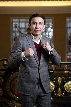 "Gennady Golovkin is a ""Good Boy"" with menacing fists."