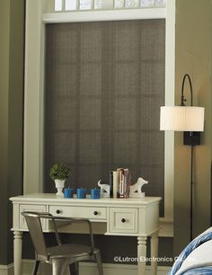 "Utilize your shading system to save additional energy beyond routine use of shades. ""Winter warm"" opens the shades, taking advantage of sunlight warming a southern façade. Bedroom Decor Lights, Bedroom Lighting, Lighting Automation, Honeycomb Shades, Budget Blinds, Roller Shades, Custom Lighting, Types Of Houses, Smart Home"