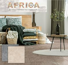 Stone-look tiles aren't just for outdoors, this warm natural design is also an excellent way to create a warm farmhouse feel in your home. Pair with tones of green and light woods for a modern take on this look. Shown here is the Skukuza hardbody tile. #africanstyle #outofafrica #home #homedecor #homegoals #tiles #stonelook Wood, Tiles, Nature Design, Modern, Home Decor, Inspiration, Stone Look Tile
